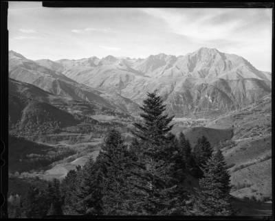 """Vue du Col d'Azet - Vers Saint-Lary-Soulan 42°47'25.18""""N  0°22'45.02""""E"""