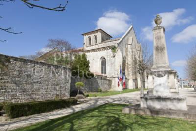Église Saint-Maixent de Prahecq