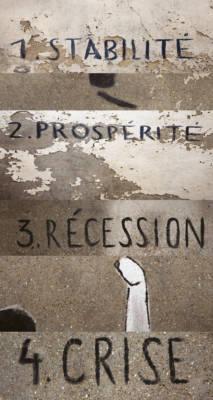 """À partir de """"Economical Process/Touché"""", Centre ville Niort. Artiste : Escif (2011)"""