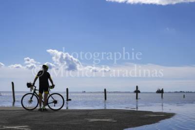 Le Port du Pavé à Charron, marrée haute