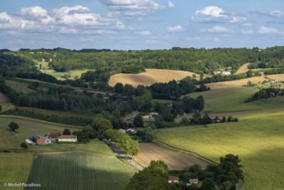 Paysage agricole en Tarn et Garonne