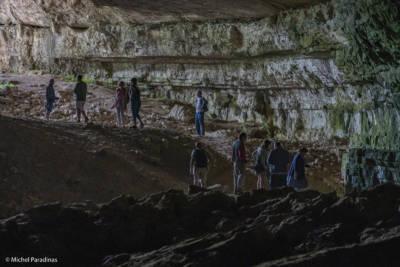 Grotte, dans le Tarn.