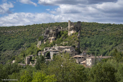 Chateau de Penne, dans le Tarn.