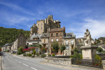 Estaing, Aveyron en région Occitanie