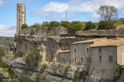 Village de Minerve dans l'hérault