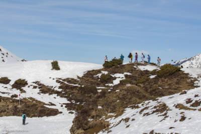 Val Louron, Hautes-Pyrénées, région Occitanie. Neige, montagne, randonnée en raquette.