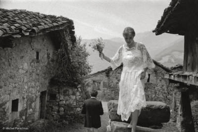 1984, Espagne, province des Asturies. Mariage. mp-1984-71-39-R-I
