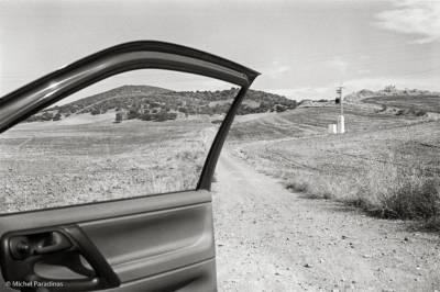 Espagne, sur la route vers Séville. mp-1996-77-12-R-I